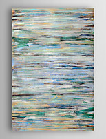 Hand Painted Oil Painting Abstract Blue Abstract  with Stretched Frame 7 Wall Arts®