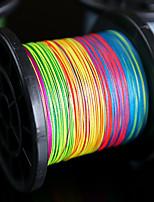 500M / 550 Yards Lenza intrecciata PE / Dyneema Altro / Multicolore120LB / 100LB / 80LB / 60LB / 50LB / 40LB / 30LB / 20LB / 15LB / 10LB