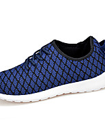 Men's Shoes Casual Fabric Fashion Sneakers Blue / Yellow / Red / Black and White / Royal Blue