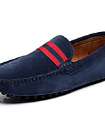 Men's Shoes Leather / Suede Outdoor / Office & Career / Casual Loafers / Slip-on Outdoor / Office & Career / Casual Flat HeelBraided