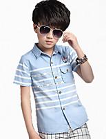 Boy's Cotton Shirt,Summer Short Sleeve