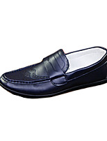 Men's Shoes Casual PU Loafers Blue / White