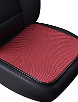 Universal Fit for Car, Truck, Suv, or Van Flat Cloth Car Seat Cushion Front Seat Cushion (1 Pieces Set) Red