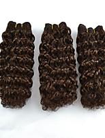 3pcs / lot corta el pelo rizo Jerry omber mezcla de color que teje la extensión del pelo