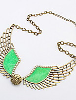 2016 New Fashion Hot Selling Popular Vintage Charms Fashion Pendants Angel Wing Feathers Necklace
