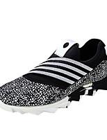 Men's Shoes Fleece Casual Fashion Sneakers Casual Flat Heel Black / Blue / Brown