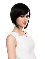 inteligente lindo peinado bob remy virginal mano del pelo humano de la mujer atada repetición la máquina pelucas Hamor