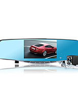 Hot sell 5 Inch Car Dvr Camera Rearview Mirror Digital Video Recorder With Dual Lens Camcorder Full HD 1080P