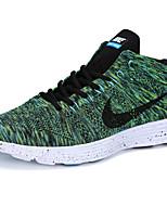 Sapatos Tênis Masculino Verde / Vermelho / Cinza Tecido