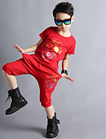 Boy's Summer Fashion Perform Street Dancing Clothes Set