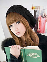 Korean Version Of The Fall And Winter Bud Cannabis Spherical Caps Knitting Wool Beret