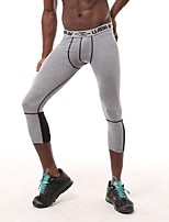 Running Bottoms / 3/4 Tights / Leggings Men's BreathableCamping & Hiking / Fitness / Racing / Leisure Sports / Basketball / Cycling/Bike