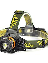Headlamp / Bike light / Flashlight XML T6 2000LM 3 Mode Rechargeable /Zoomable 18650 Lanterna Lamp Torch light