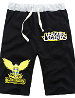 Inspired by League Of Legend LOL Cosplay Boys' Pure Cotton Shorts