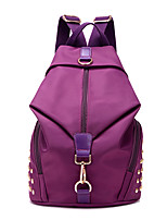 Women Casual / Outdoor / Shopping Oxford Cloth / Nylon Zipper Backpack