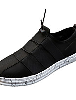 Men's Shoes Fabric Office & Career / Casual Slip-on Office & Career / Casual Black / Blue / Champagne