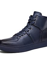 Men's Shoes Outdoor / Office & Career / Casual Fashion Sneakers Black / Blue / White