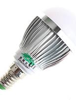 3W E14 / GU10 Ampoules Globe LED A60(A19) 6 SMD 5730 280lumens lm Blanc Chaud / Blanc Naturel Décorative AC 100-240 V 1 pièce