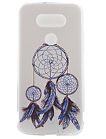 For LG Case Case Cover Pattern Back Cover Case Dream Catcher Soft TPU for LG