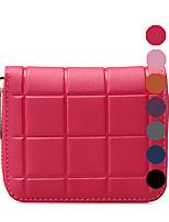 RAFURA Women-Casual / Professioanl Use-Cowhide-Wallet-Pink / Purple / Blue / Orange / Gray / Black-RJ0545