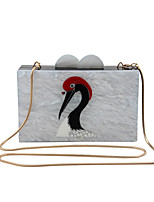 L.WEST Women's Handmade Animal Motifs Evening Bag