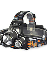 6000LM 3x XM-L T6 LED Phare Lampe Frontale 18650