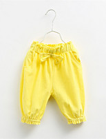 2016 Summer Style Children Pants Girls Short Pants Candy Color Solid Causal Pants For Baby Girl