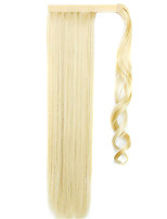 Golden 60CM Synthetic High Temperature Wire Wig Straight Hair Ponytail Color 86/613