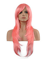 Cosplay Wig Inspired by Sword Art Online Asuna Yuuki Pink Hair Synthetic Wig.