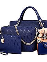 Fashion Casual Women's Bag Multifunctional Handbag PU Handbag Messenger Bag Woman Shopping Collection Of Four Loaded