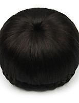 Kinky Curly Black Human Hair Lace Wigs Chignons 2/33