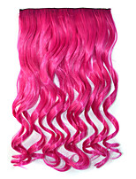 Clip in Synthetic Wave Hair Extensions with 5 Clips