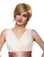 moda largas hermosas mujeres largas Remy de la Virgen de cabello natural peluca antes de atado de