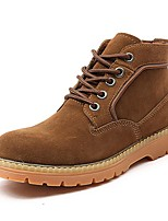 Men's Shoes Outdoor / Work & Duty / Athletic / Casual Suede Boots Blue / Brown