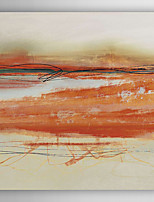 Hand Painted Oil Painting Abstract Orangecoloured Abstract with Stretched Frame 7 Wall Arts®