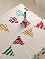 bande dessinée de table à motifs tissu mode hotsale de haute qualité draps en coton table basse carrée couverture en tissu éponge