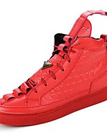 Men's Shoes Outdoor/Office & Career/Party & Evening /Athletic / Dress / Casual Synthetic Athletic Shoes Black/Red