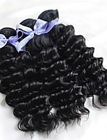 dell'onda profonda dei capelli vergini ricci capelli bellezza 7a vip capelli ricci 3 fasci prodotti per capelli rosa malesi malesi