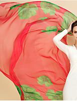 Women Spring Cloak Beach Towel Scarves Printed Sun Shade Long Scarf