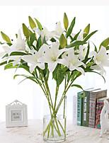 PU Lis Fleurs artificielles