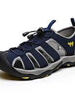 Zapatos Antideslizantes Semicuero / Microfibra Azul / Marrón Hombre