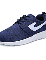 Men's Shoes Athletic Tulle Fashion Sneakers Blue / White