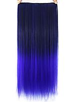 pelucas de encaje rectas púrpuras coloridos del pelo humano