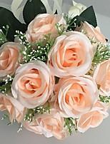 Ramos(Champaña,Satén) -Rosas