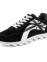Men's Shoes Casual Fleece Fashion Sneakers Black / Blue / Gray