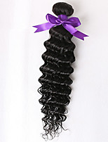 profunda brasileña virginal rizada del pelo 1 PC onda profunda brasileña 7a sin procesar virginal del pelo humano haces armadura brasileña