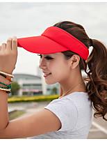 Unisex Korean Pure Color Empty Top Hat Outdoor Sun Baseball Cap