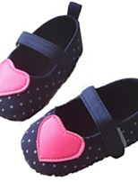 Baby Shoes Outdoor Synthetic Flats Blue