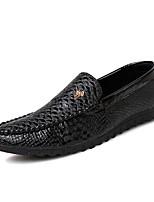 Men's Shoes Casual Suede Fashion Sneakers Black / White / Orange
