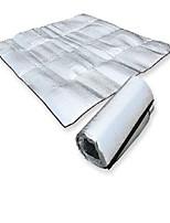 TIANYU Moistureproof PVC Camping Pad / Sleeping Pad / Picnic Pad Silver